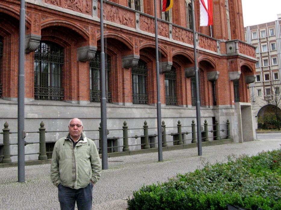 دوره بازگشت محمد علی مرادی از آلمان